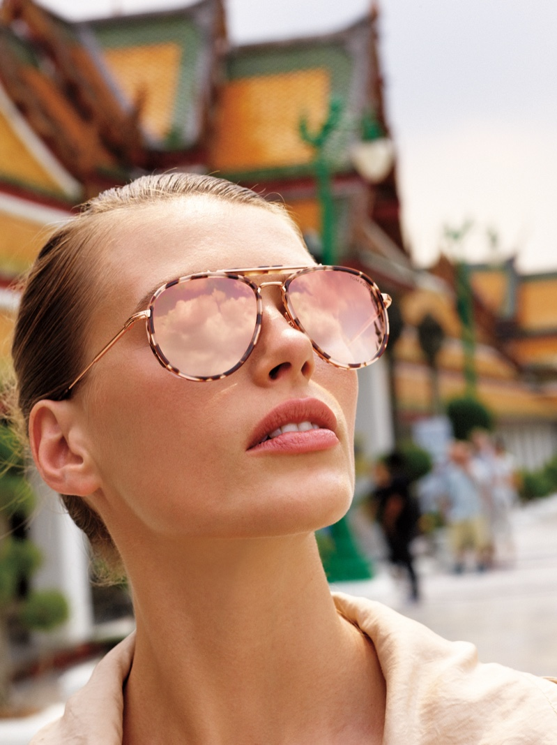 Tom Ford sunglasses take the spotlight in Neiman Marcus Art of Travel campaign