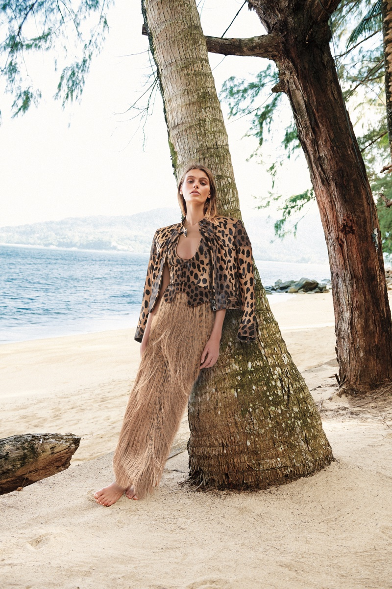 Tom Ford designs stand out in Neiman Marcus Art of Travel campaign