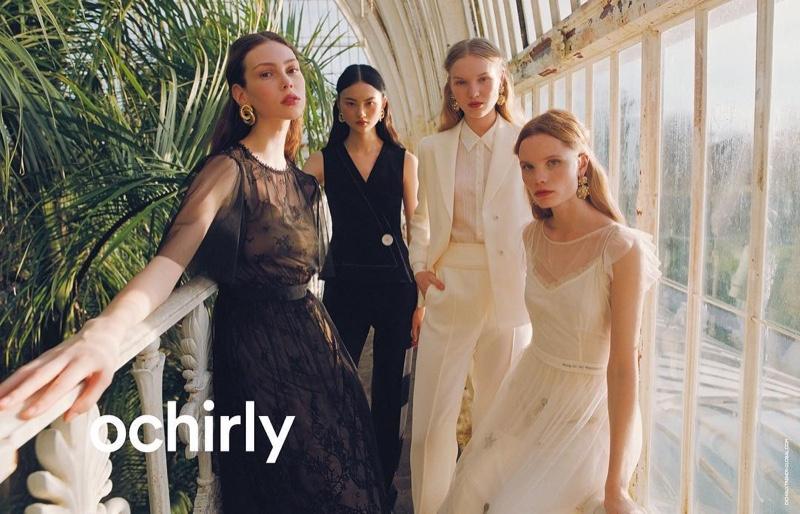 Lorena Maraschi, Polina Oganicheva, Jess PW and He Cong star in Ochirly summer 2019 campaign