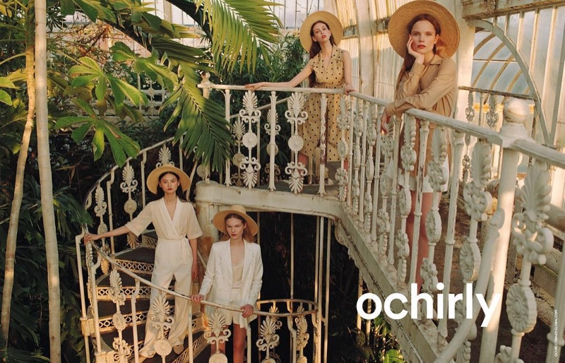 An image from the Ochirly summer 2019 advertising campaign