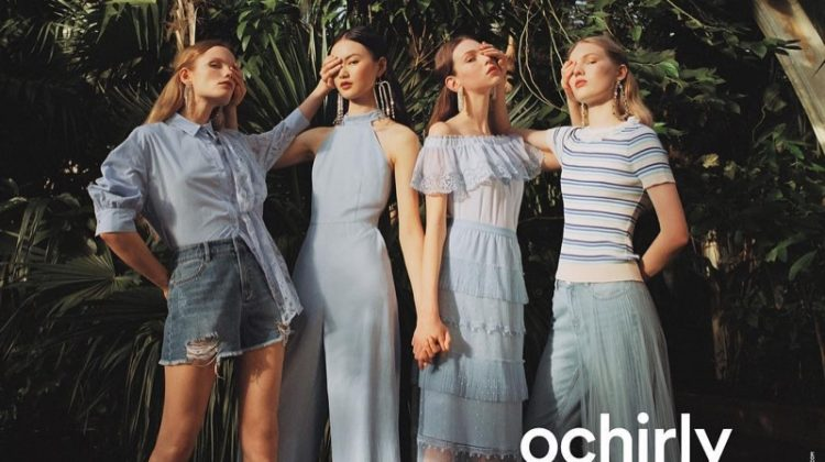 Michal Pudelka photographs Ochirly summer 2019 campaign