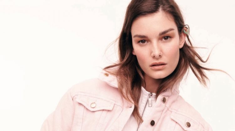 Ophelie Guillermand Poses In Spring Trends for ELLE Italy