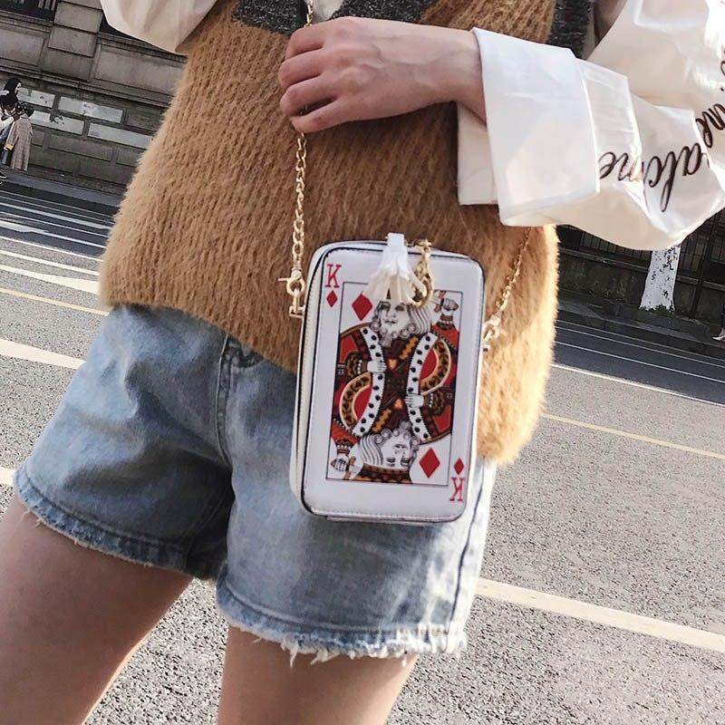 Poker Shoulder Bag