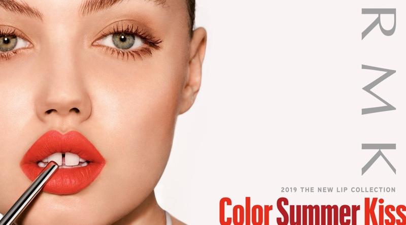 RMK unveils Color Summer Kiss 2019 lipstick campaign