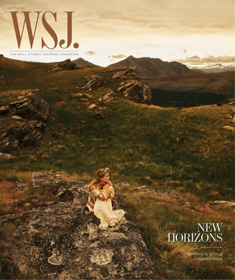 Rebecca Leigh Longendyke on WSJ. Magazine May 2019 Cover