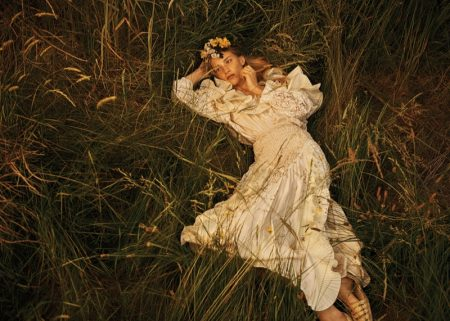 Rebecca Leigh Longendyke Models Enchanting Looks for WSJ. Magazine