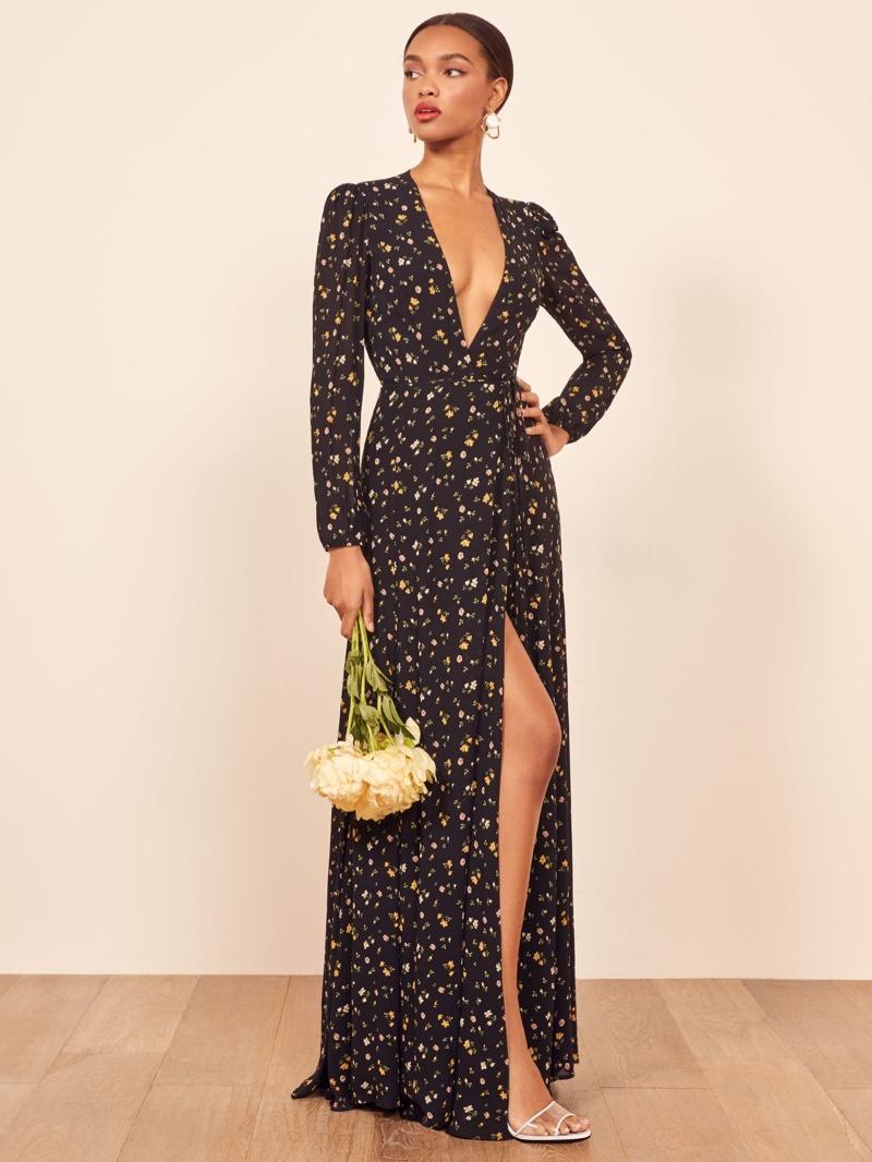 Reformation Milan Dress in Venezia $428