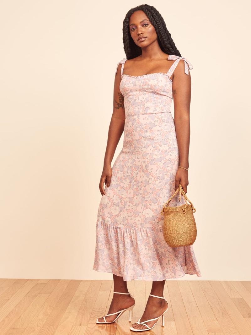Reformation Nikita Dress in Irene $248