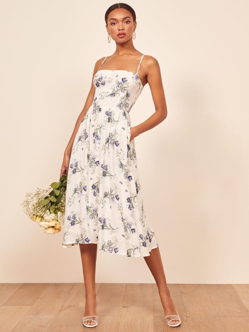 Reformation Rosehip Dress in Delilah $248