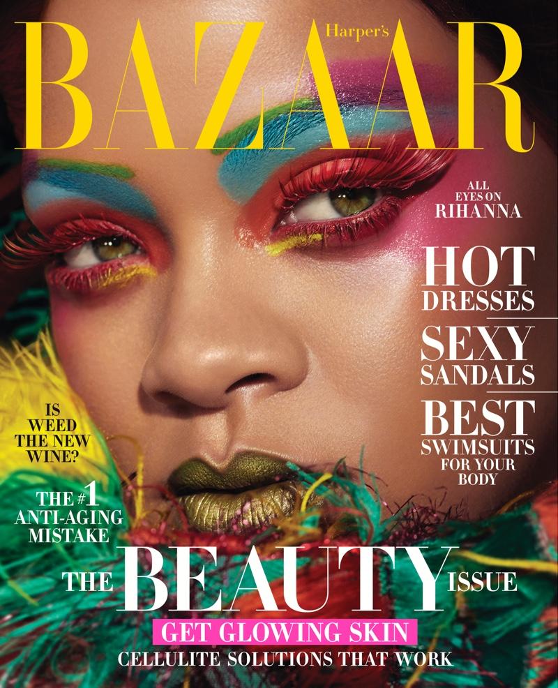 Rihanna on Harper's Bazaar US May 2019 Cover