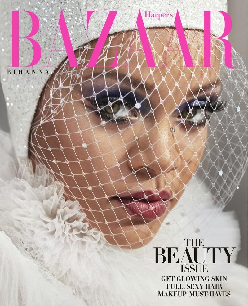 Singer Rihanna on Harper's Bazaar US May 2019 Cover
