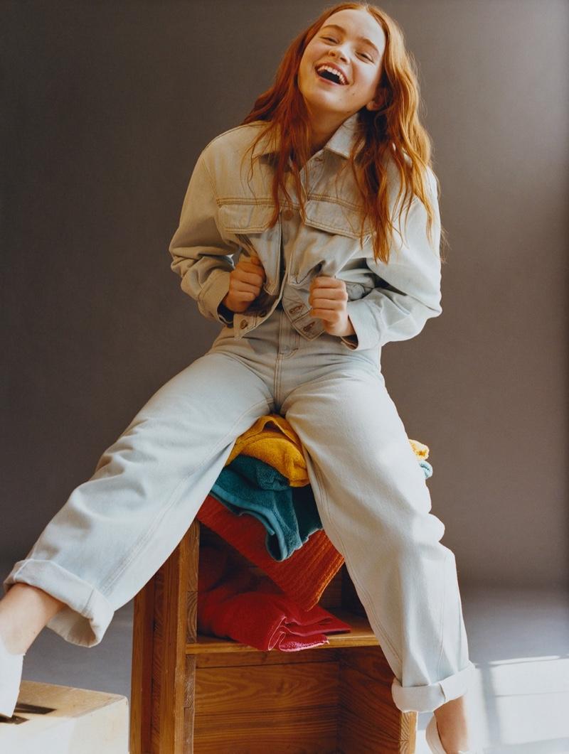 Sadie Sink stars in Pull & Bear campaign
