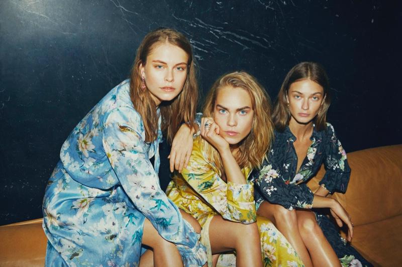 Line Brems, Victoria Plum and Mathilda Henrikson star in Sand Copenhagen spring-summer 2019 campaign