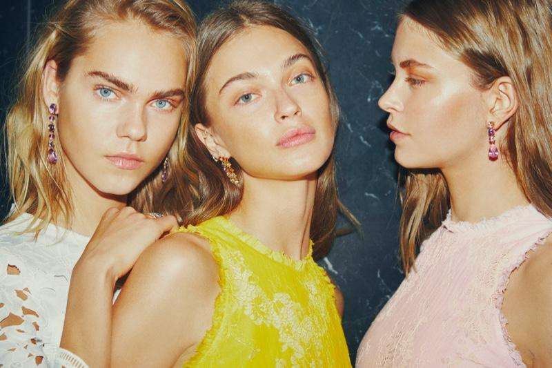 ine Brems, Victoria Plum and Mathilda appear in Sand Copenhagen spring-summer 2019 campaign