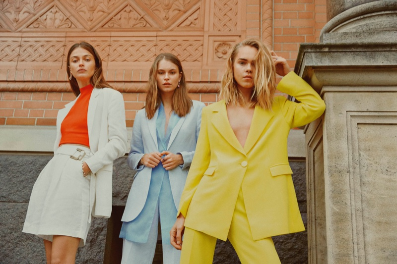 Suiting separates take the spotlight in Sand Copenhagen spring-summer 2019 campaign
