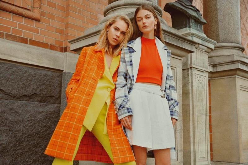 Line Brems and Victoria Plum star in Sand Copenhagen spring-summer 2019 campaign