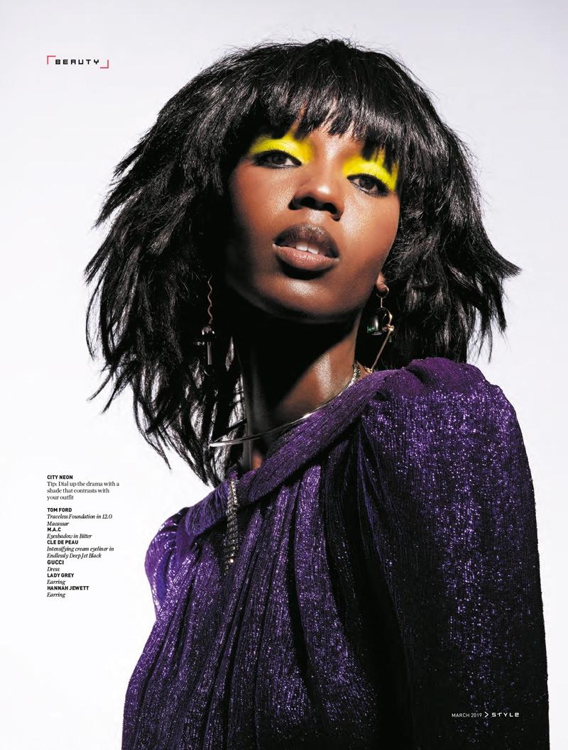 Leila Nda& Ash FooModel Bold Beauty for SCMP Style