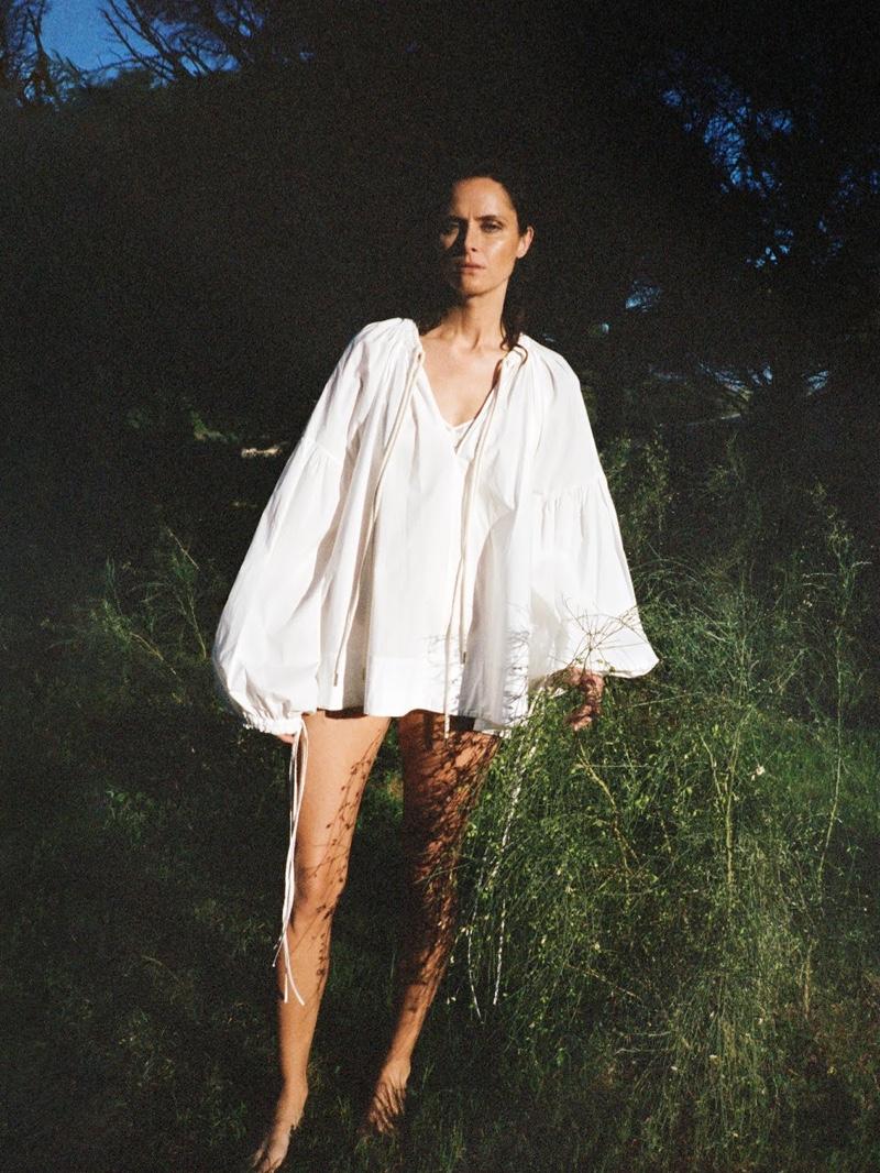 Tasha Tilberg Embraces Dreamy Looks for PORTER Edit