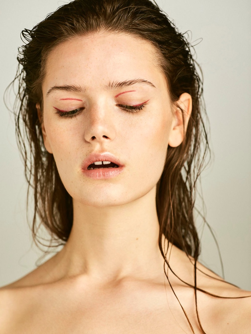 Tessa Jones Harper S Bazaar Czech Oliver Pedrosa Beauty Editorial