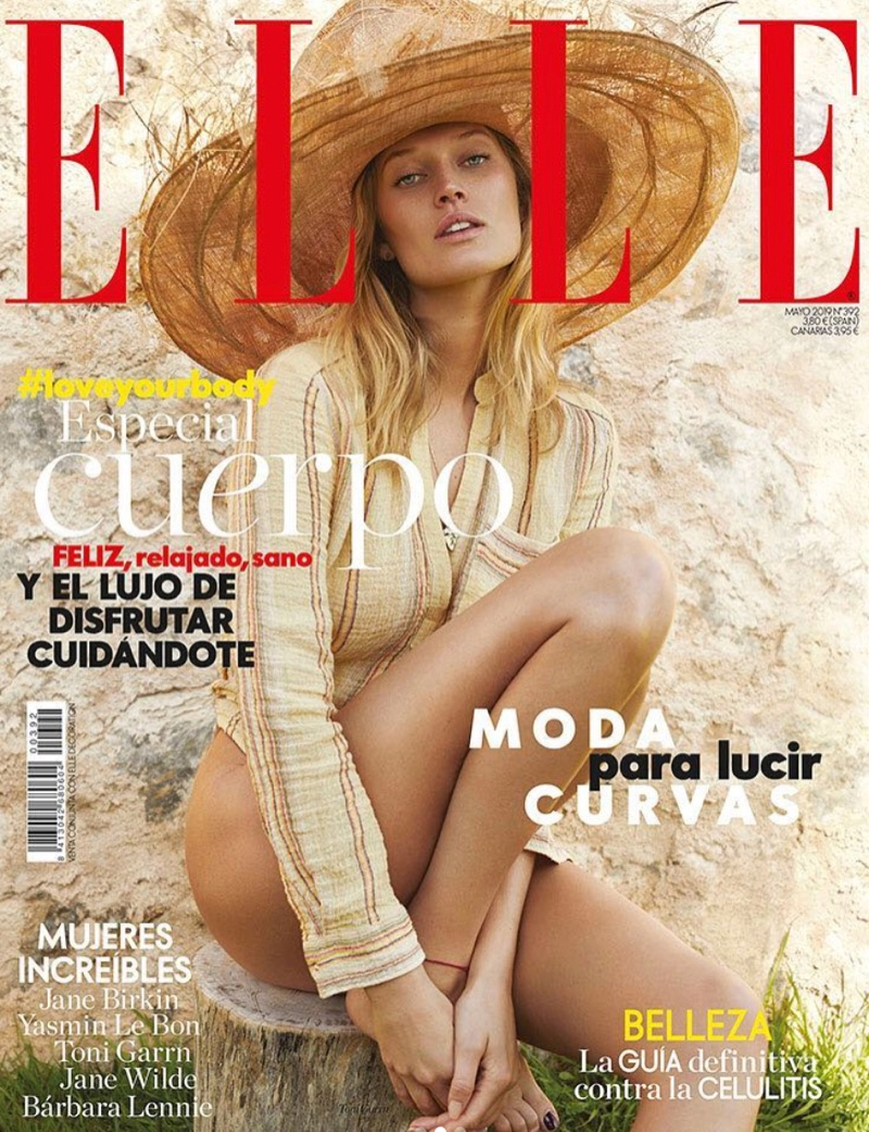 Toni Garrn Sizzles in Summer Fashion for ELLE Spain
