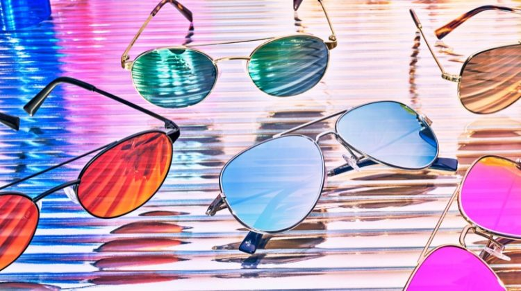 Warby Parker Aviator Flash Sunglasses
