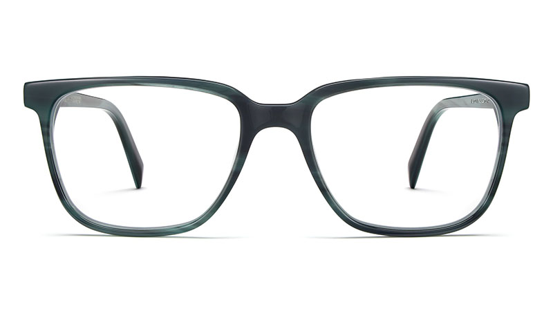 Warby Parker Hayden Glasses in Striped Pacific $95
