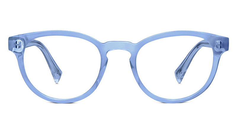 Warby Parker Percey Glasses in Tidal Blue $95