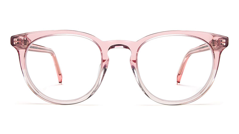 Warby Parker Sadie Glasses in Cherry Blossom Fade $95