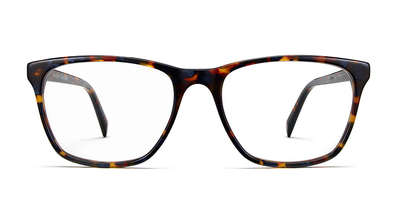 Warby Parker Yardley Glasses in Blue Marbled Tortoise $95