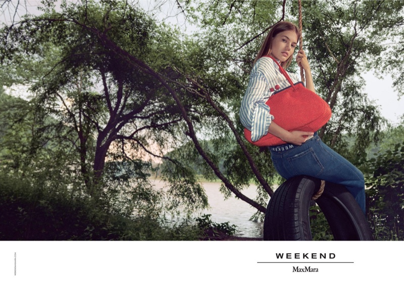 Myrthe Bolt fronts Weekend Max Mara spring-summer 2019 campaign