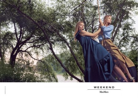 An image from the Weekend Max Mara spring 2019 advertising campaign