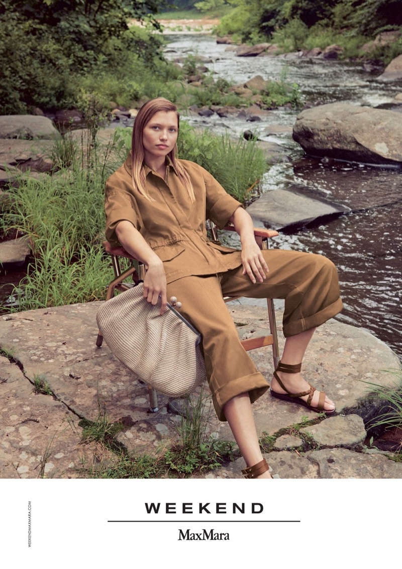Model Hana Jirickova fronts Weekend Max Mara spring-summer 2019 campaign
