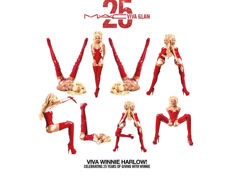 MAC Cosmetics launches Viva Glam 25th Anniversary campaign