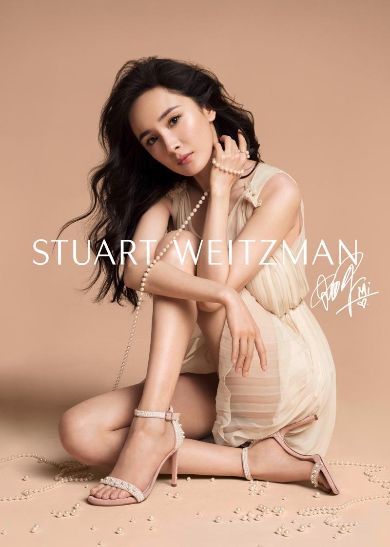 Actress Yang Mi stars in Stuart Weitzman spring 2019 campaign