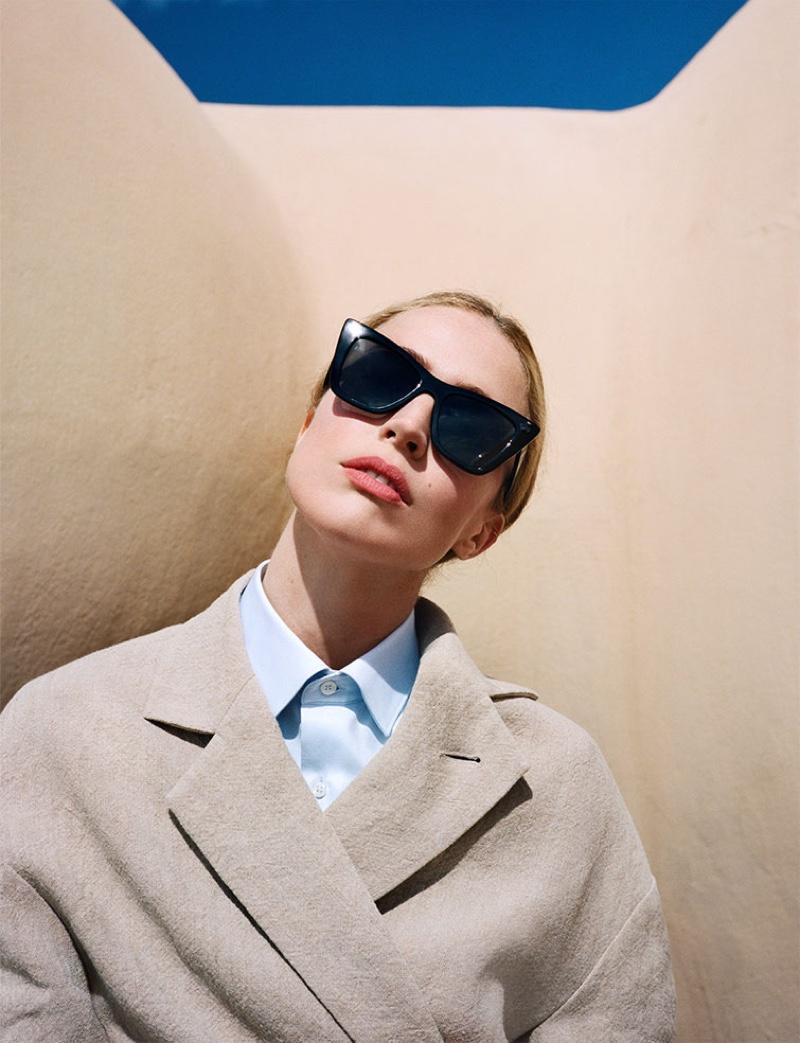 Zara Jacket, Shirt and Sunglasses