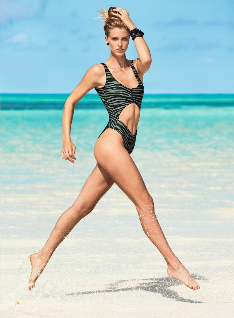 Abby Champion stars in Calzedonia Swim summer 2019 campaign