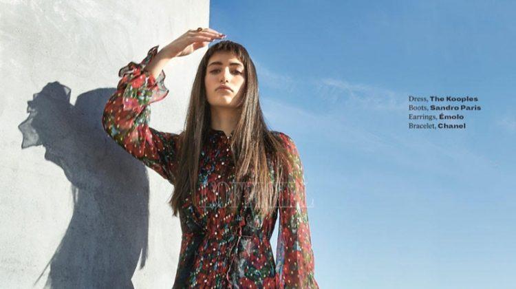 Alba Lackner Wears Statement Styles for L'Officiel India