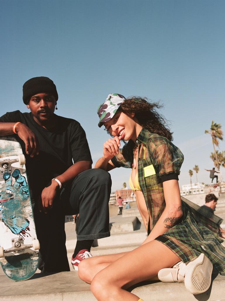 Alice Metza Embraces Venice Beach Style for Cosmopolitan Germany
