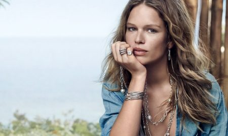 Anna Ewers stars in David Yurman spring-summer 2019 campaign
