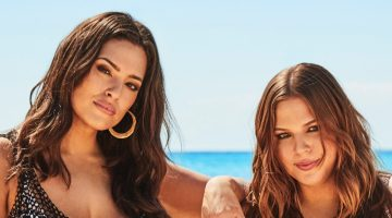 Ashley Graham & Her Sister Abigail Front Swimsuits For All Campaign