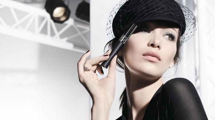 Bella Hadid stars in Dior Pump 'N' Volume mascara campaign