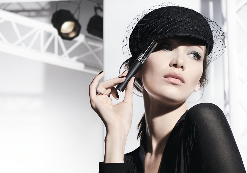 Bella Hadid stars in Dior Pump 'N' Volume mascara campaign