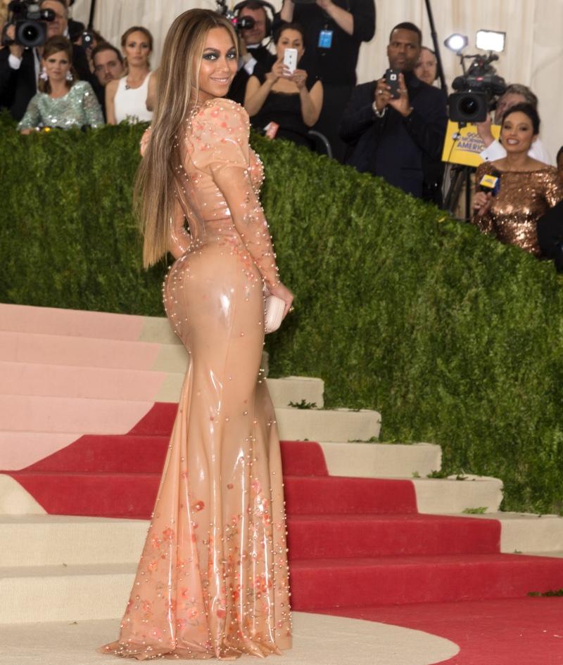 Beyonce at 2016 Met Gala.