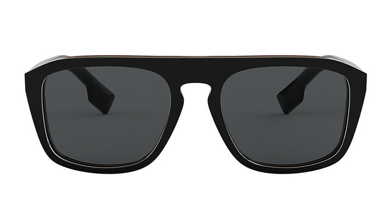 Burberry BE4286 Sunglasses in Black with Grey Lenses $285