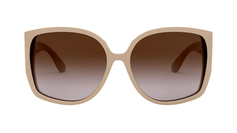 Burberry BE4290 Sunglasses in Beige with Brown Lenses $270