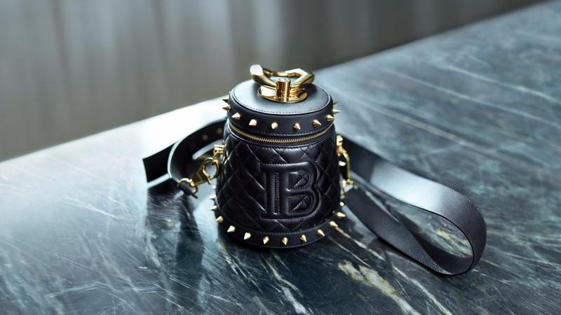 A look at the Balmain x Cara Romeo bag