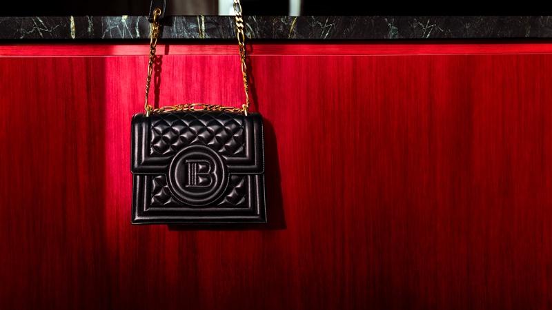 A look at the Balmain x Cara BBag bag