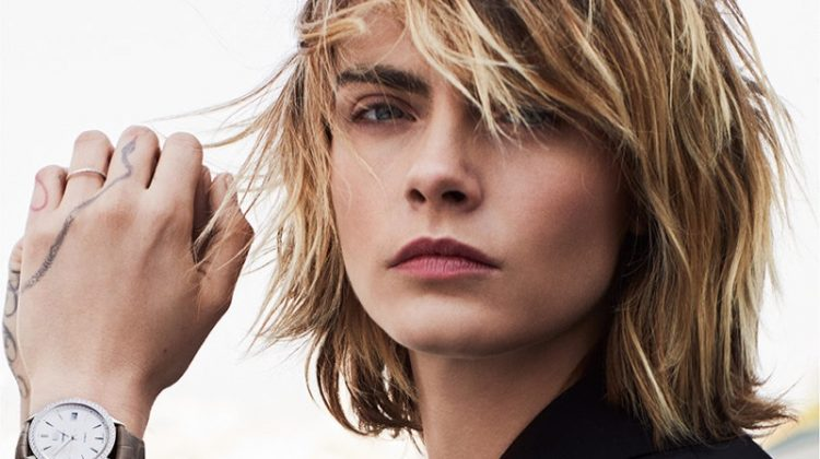 Cara Delevingne stars in Tag Heuer Carrera Lady watch campaign