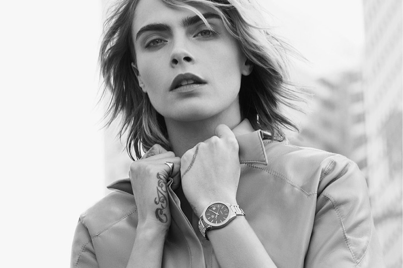 Model Cara Delevingne fronts Tag Heuer advertisements