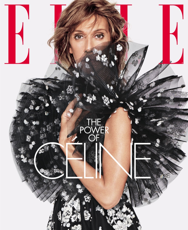 Celine Dion on ELLE US June 2019 Cover